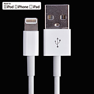 MFi Certified 8pin Lightning to USB Data / Sync / Charging Cable for iPhone 6 /6 Plus and More (100cm)
