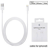 3.3ft (1m) mfi gecertificeerde bliksem naar USB-synchronisatie- en oplaadkabel voor de Apple iPhone 5 / 5s / 6/6 plus / ipad mini
