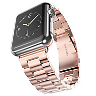 Black/Yellow Golden/Rose Golden IP Plating Stainless Band for Apple Watch 38mm/42mm Band Hoco  Three-Colour