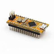 nye nano v3.0 modul atmega328p-au forbedret versjon for Arduino - gul