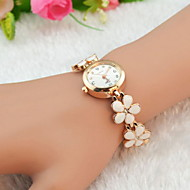 Women's Watch Flower Bracelet Alloy Band Cool Watches Unique Watches Fashion Watch