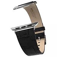 Horlogeband voor appelhorloge 38mm 42mm echt leer klassiek gesp vervangingsriem