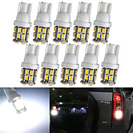 lorcooの™20枚のX T10が3528白い車のライトの電球を導いた20smd 194 168 2825 5ワット(2セット)