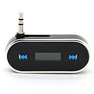 Adaptador de radio transmisor fm 3.5mm