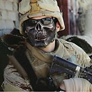 champ de Kito de halloween guerrier squelette moitié du visage masque du terrorisme