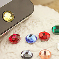 Resin Home Button Sticker for iPhone(Random Color)
