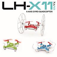 LH-X11 mini-quadcopter rc 4 canaux 2,4 GHz laminage / voler drone nano avec 6 axes gyroscope intégré