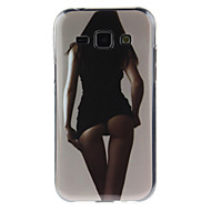 For Samsung Galaxy etui IMD Etui Bagcover Etui Sexet kvinde TPU for Samsung J7 J5 J1