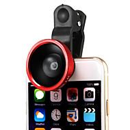 obiettivo rimovibile 220 gradi grandangolare con la clip universale per iphone 6plus / 6/5 / ipad e altri (colori assortiti)