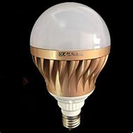 15W E26/E27 Lampadine globo LED A60(A19) 72 SMD 5730 2000 lm Luce fredda Decorativo AC 220-240 V 1 pezzo