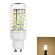GU10 3.5W 600lm 3500K 48-5730 SMD LED lämmin valkoinen valo maissi lamppu (110v)