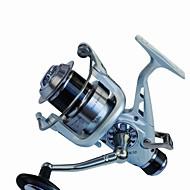 Fiskehjul Karper Fiskehjul Spinne-hjul 5.2:1 11 Kuglelejer ombytteligHavfiskeri Spinning Vippefiskeri Ferskvandsfiskere Karper Fiskeri