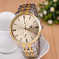 Men's  Watch New Gold Men Simple Watch