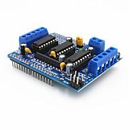 l293d motorvezérlő pajzs motoros hajtás bővítőkártya az Arduino - kék