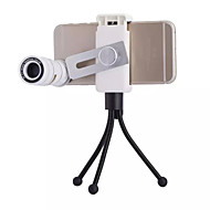 New Universal 4 in 1 Fish Eye Wide Macro 9X F1.1 Telephoto Lens for iPhone 6 / 6 Plus (Assorted Colors)