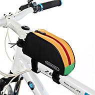 ROSWHEEL® 自転車用バッグ 1L自転車用フレームバッグ 防水 / 防水ファスナー / 防湿 / 耐久性 自転車用バッグ 600Dポリエステル サイクリングバッグ 旅行 / サイクリング 18*10*6