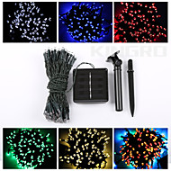 12M 100LED Solar String Lights Christmas Decoration Lights Waterproof Lights