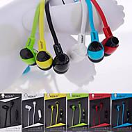 3.5 salut-fi de style de haute qualité écouteurs intra-auriculaires pour téléphones Samsung (couleurs assorties)