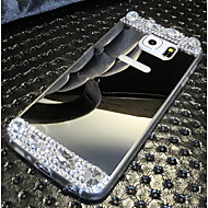 High Quality Electroplating Mirrored with Diamond Back Cover for Samsung Galaxy S6/S6 Edge (Assorted Colors)