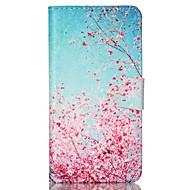 Mert Samsung Galaxy tok Pénztárca / Kártyatartó / Állvánnyal / Flip Case Teljes védelem Case Fa Műbőr SamsungS6 / S5 Mini / S5 / S4 Mini