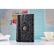 New Arrival Hot Sell Fashion Flower 360 Rotate Pu leather Case Cover Auto Sleep/Wake Up for ipad Air(Assorted Color)