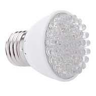 1w e27 38led 100-200lm 28red + 10blue plante vokse pære haven hydroponic lampe (ac220v)