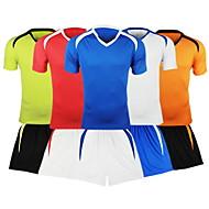 Ensemble de Vêtements/Tenus ( Bleu Ciel ) de Football - Respirable  à Manches courtes
