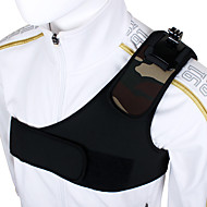 Gopro Accessories Shoulder Strap Black Edition for Go pro Hero 1234 Xiaomi Yi Sjcam Sj4000 Sj5000 Sport Camera