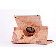 carte du monde 360⁰ cas stand de la fonction Conception de haute qualité PU sac en cuir pour iPad 2 de l'air (couleurs assorties)