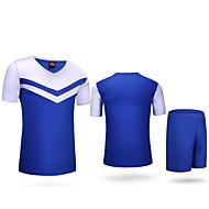 Andningsfunktion / Snabb tork / Lättviktsmaterial - Kort ärm - Klädesset/Kostymer ( Others ) - till Fotboll / Löpning - Herr