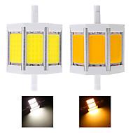 1 шт R7s 10 Вт 3 початка 960 лм теплый белый / холодный белый привело кукурузы лампы переменного тока 85-265 В
