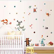 Dieren / Cartoon / Fantasie Wall Stickers Vliegtuig Muurstickers , PVC 50cm*70cm