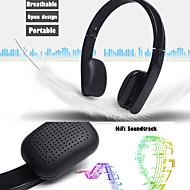 trådløs bluetooth hovedtelefoner øretelefon øretelefoner stereo foldbar håndfrit headset med mikrofon til iPhone 6puls 6s