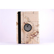 World Map 360⁰ Case Design Stand Function High Quality PU Leather Bag For iPad Air