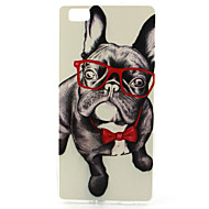 Για Θήκη Huawei Με σχέδια tok Πίσω Κάλυμμα tok Σκύλος Μαλακή TPU Huawei
