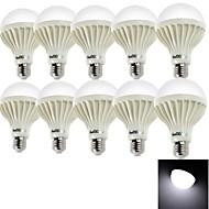 youoklight® 10PCS E27 7W 12*SMD5630 550LM 6000K  White Light LED Globe Bulbs (AC220V)