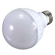 1 pcs E26/E27 7 W 21 SMD 700 LM Warm White / Cool White LED Globe Bulbs AC 100-240 V