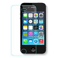 -Estilhaçar anti choque 2.5d 9h 0,33 milímetros protetor de tela de vidro anti prova de explosão temperado para iPhone 4 / 4S
