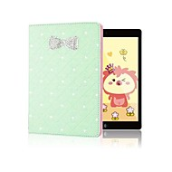 Hot Selling Sparkling Rhinestone Bowknot Flip Skin Shell for iPad Air(Assorted Colors)