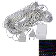 JIAWEN® 1.5x1.5M 4W 96-LED 8-Mode RGB /Whiet /Yellow /Red /Green /Blue Light Ornamental Net Lights (EU Plug , AC 220V)
