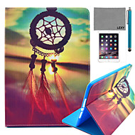 LEXY® Chinese Knot Pattern PU Leather Flip Stand Case with Screen Protector and Stylus for iPad Air 2/iPad 6