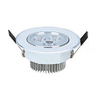 3W Luces Empotradas Descendentes 3 LED de Alta Potencia 350 lm Blanco Cálido / Blanco Fresco AC 85-265 V 1 pieza