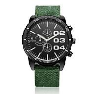 V6 Muškarci Ručni satovi s mehanizmom za navijanje Kvarc Materijal Grupa Crna Plava Crvena Zelena Crn Sive boje Crvena Zelen Plava