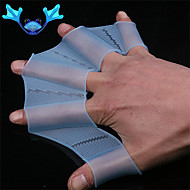 Swimming Gear Fin Hand Webbed Flippers Silicone Training Glove Women Men Kids Webbed Gloves For Swimming