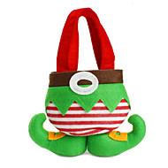 chaude mode de vente christmas santa pantalons elfe esprit sacs de bonbons noël décoration sac cadeau mignon enfant chiffon doux rouges