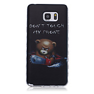 For Samsung Galaxy Note Pattern Case Back Cover Case Cartoon TPU Samsung Note 5 / Note 4 / Note 3