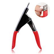 Manicure Tool Type U Nail Scissors Cut A Cut Of Three Shapes
