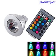 YouOKLight® GX5.3 MR16 3W RGB 260lm 1*LED  Light Decoration Lamp (12V)