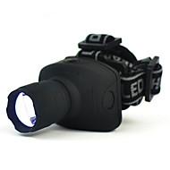 Iluminación Linternas de Cabeza / Linternas y Lámparas de Camping / Correa para Luz de Casco LED 200Lumens Lumens 3 Modo LED AAATamaño