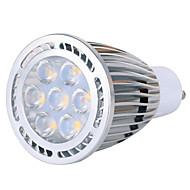 9W GU10 LED 스팟 조명 MR16 7 SMD 850 lm 따뜻한 화이트 / 차가운 화이트 장식 AC 85-265 V 1개